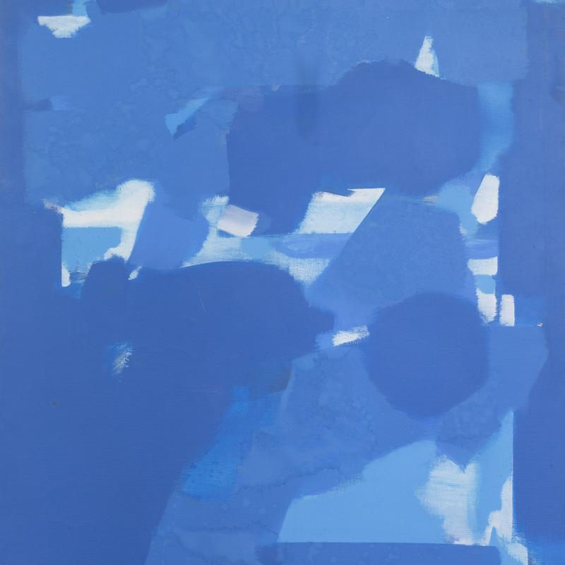 Carl Holty, Dark Blue