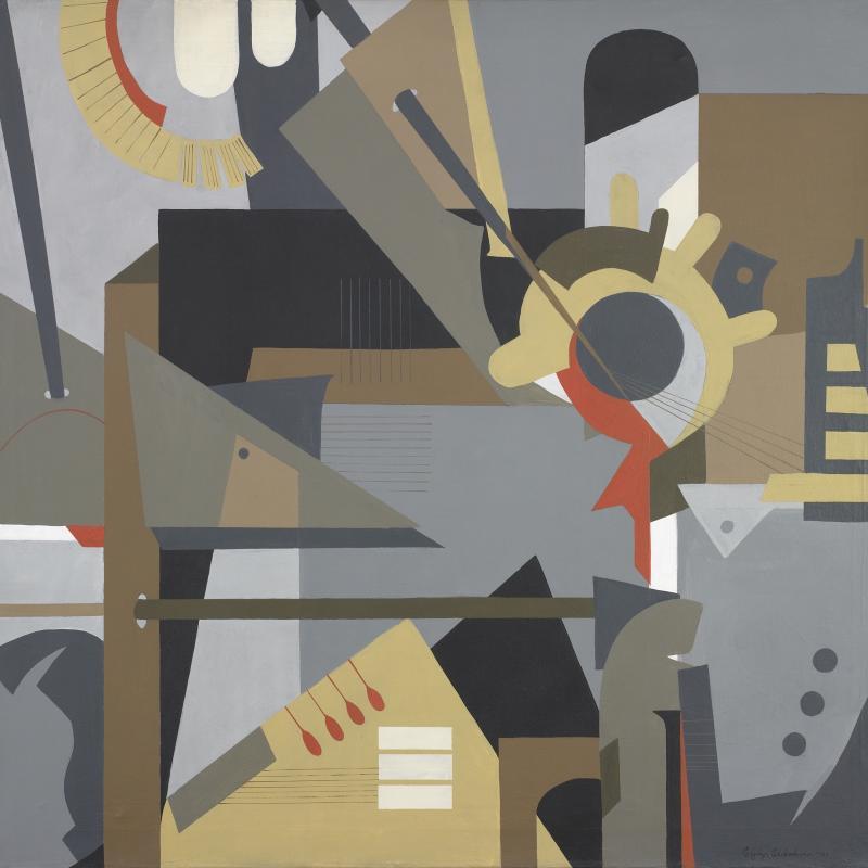Esphyr Slobodkina, Untitled, 1985