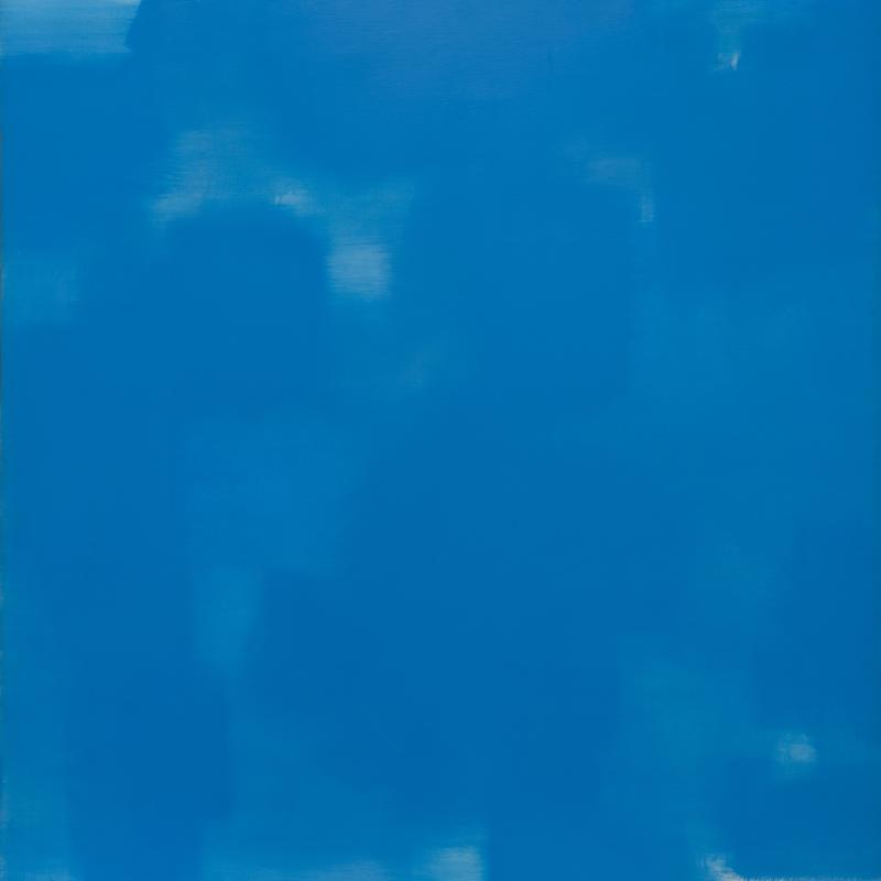 Carl Holty, Twelfth Night (Blue, White), 1962