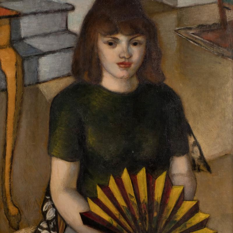 Simka Simkhovitch, Woman with a Fan