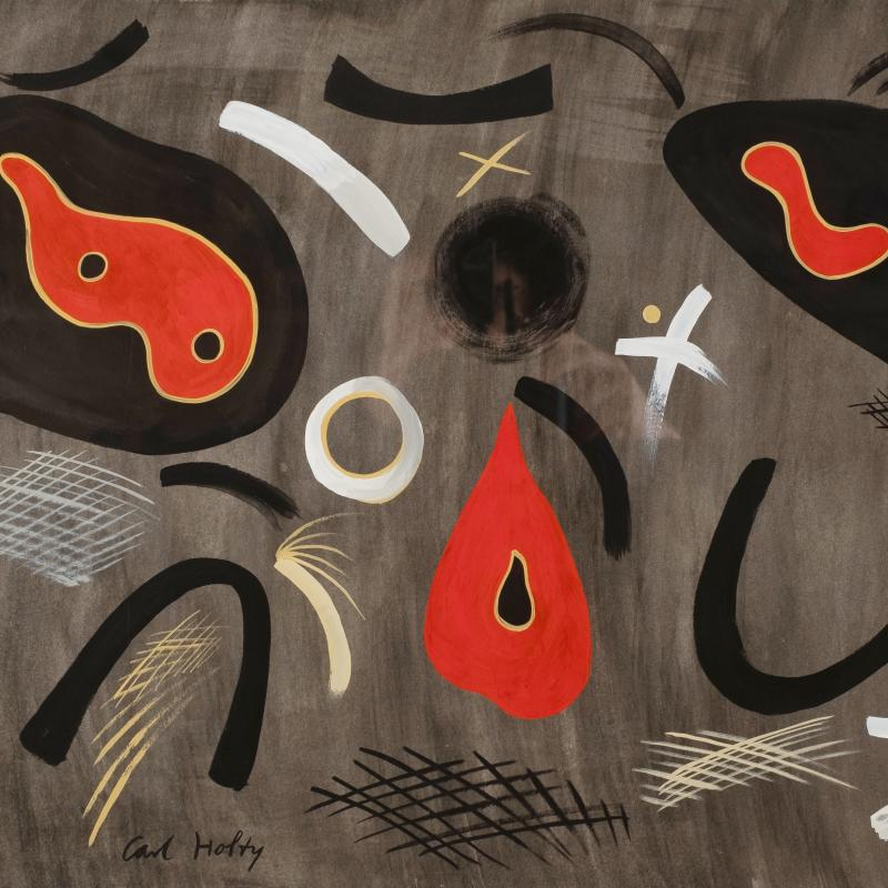 Carl Holty, Biomorphic Abstraction, c. 1936