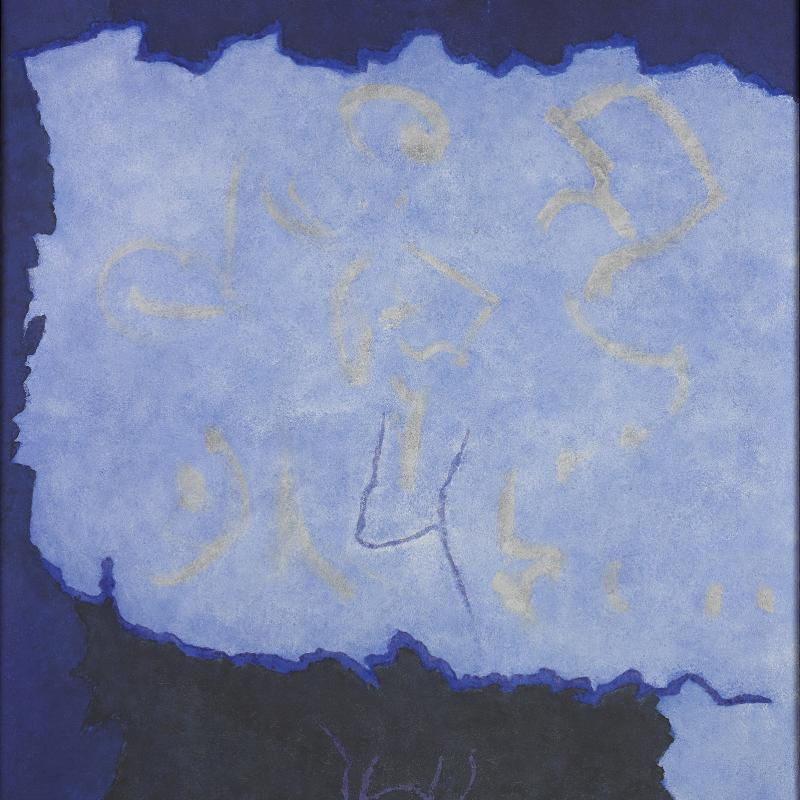 Theodoros Stamos, Rizitika #3, Infinity Field, Creten Series, 1983