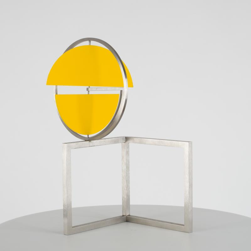 Roger Phillips, Split Disc on Two Squares, 2013