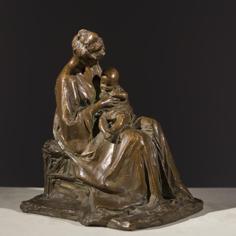 Bessie Potter Vonnoh, Motherhood, 1902