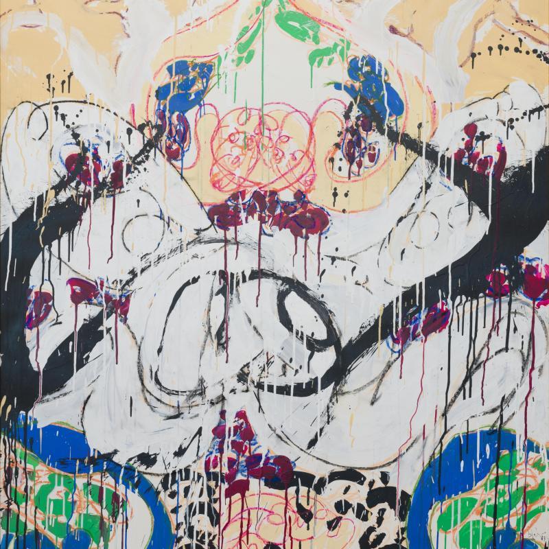 Norman Bluhm, Fresco #14, 1987