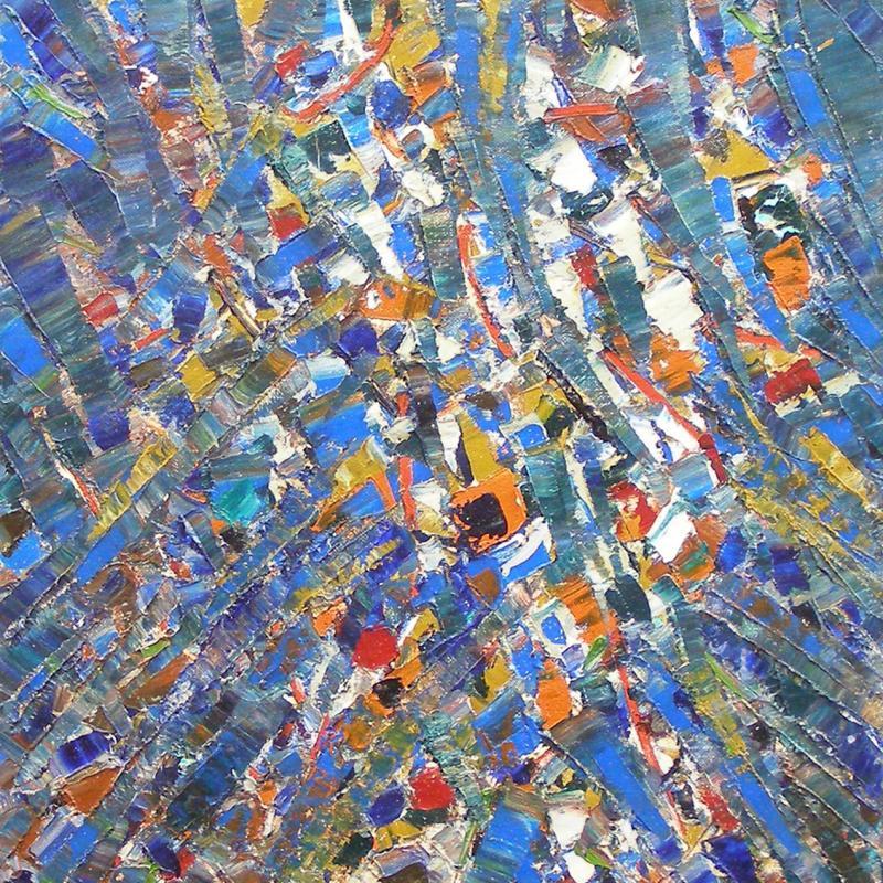 Jacques Germain, Composition Abstraite, 1968