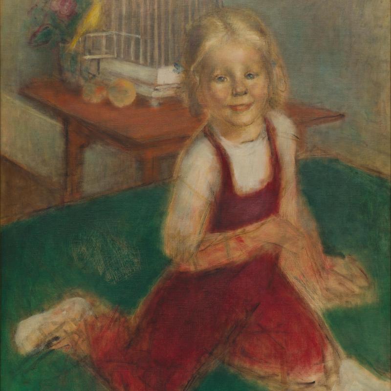 Simka Simkhovitch, ZB in a Red Jumper