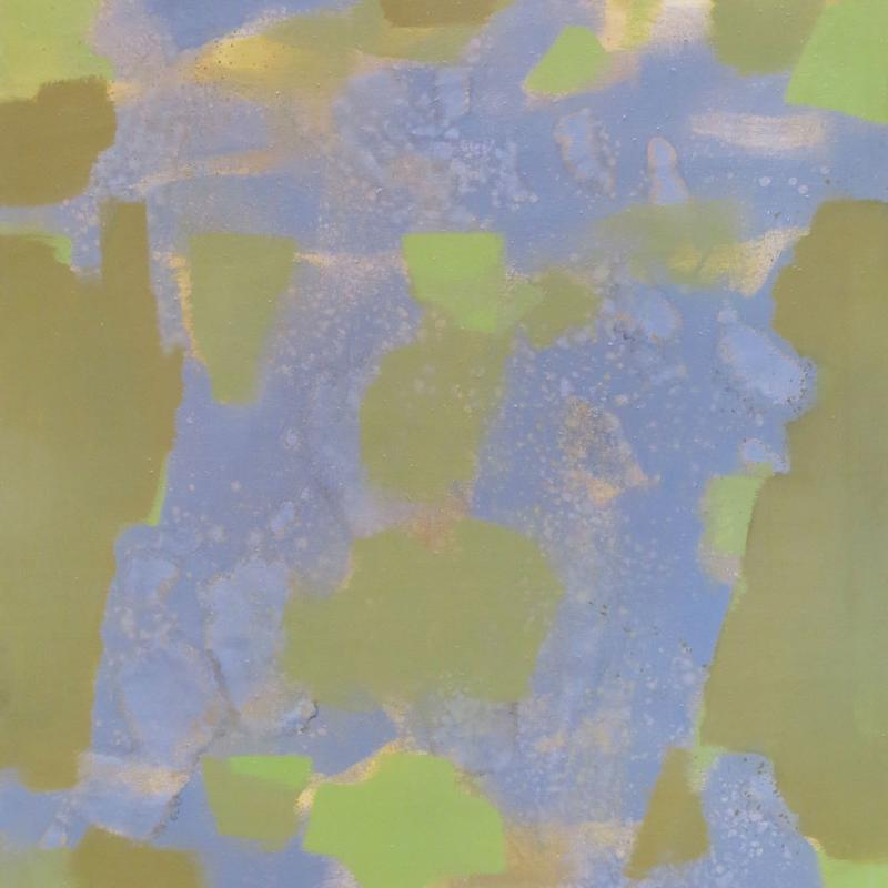 Carl Holty, Gray and Ochre, 1968