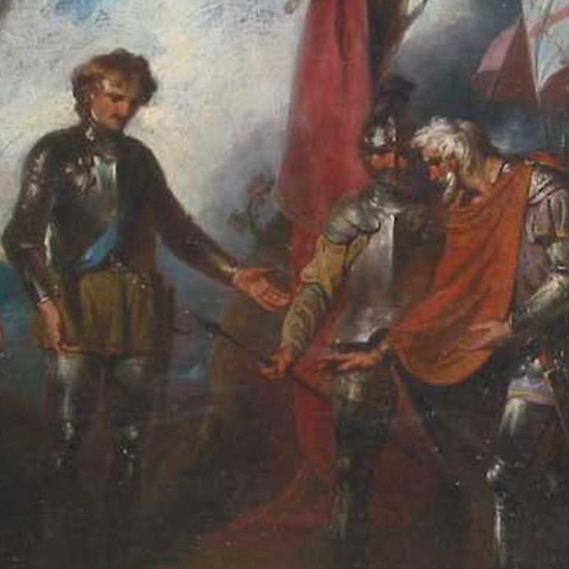John Hamilton Mortimer, The Black Prince Receiving King John
