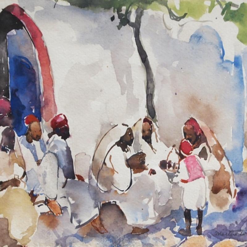 Martha Walter, Gathering, North Africa