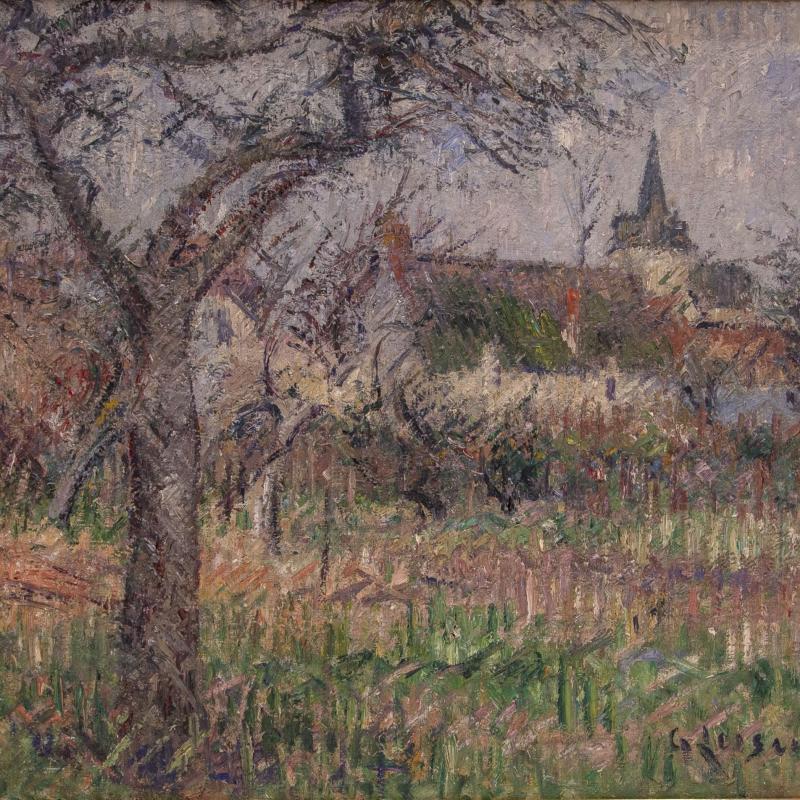 Gustave Loiseau, Le Clos de Monsieur Janson, Le Vaudreuil, Eure, 1926