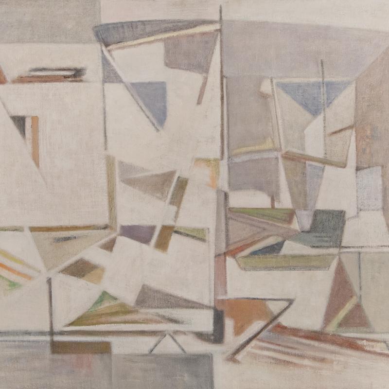 Geer van Velde, Composition, Circa 1956