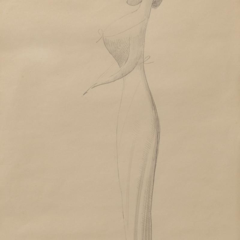 Elie Nadelman, Woman in Profile, 1921