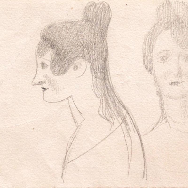Elie Nadelman, Two Views of a Woman