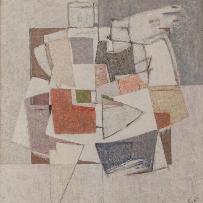 Geer van Velde, Composition, Circa 1958