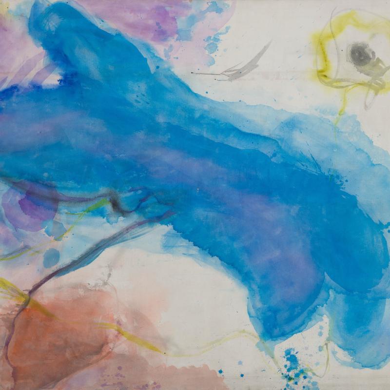 Vivian Springford, Blue Form (#163), 1963