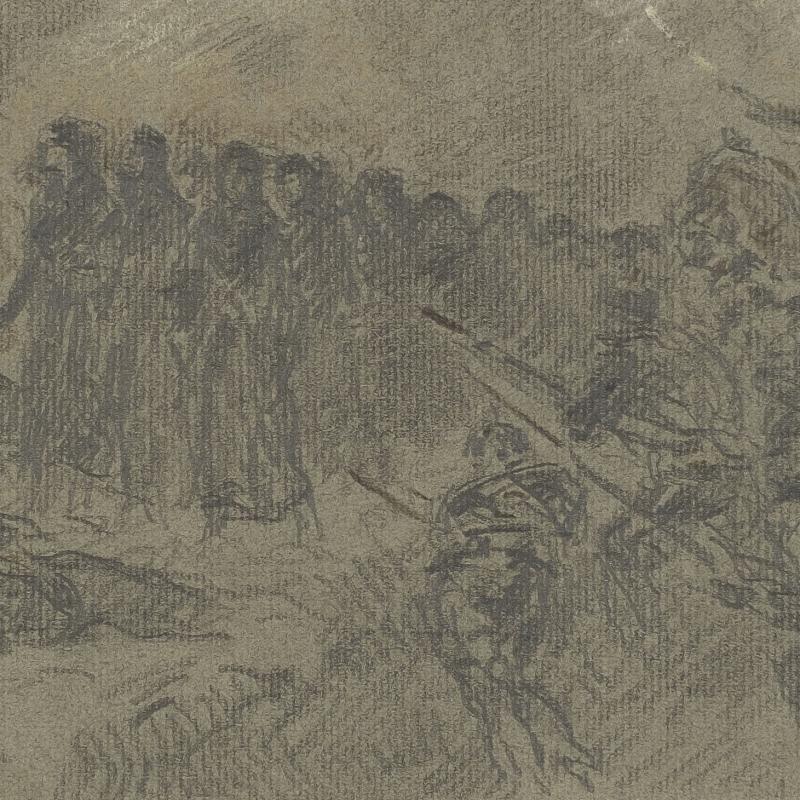 Francis Luis Mora, Battle Scene