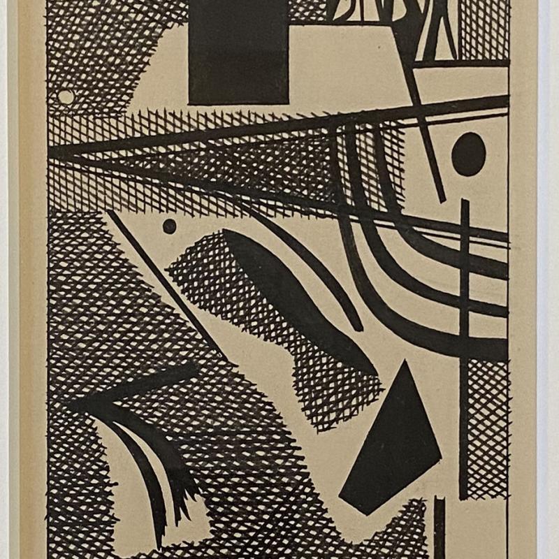 Carl Holty, Ink Study V A, c. 1935