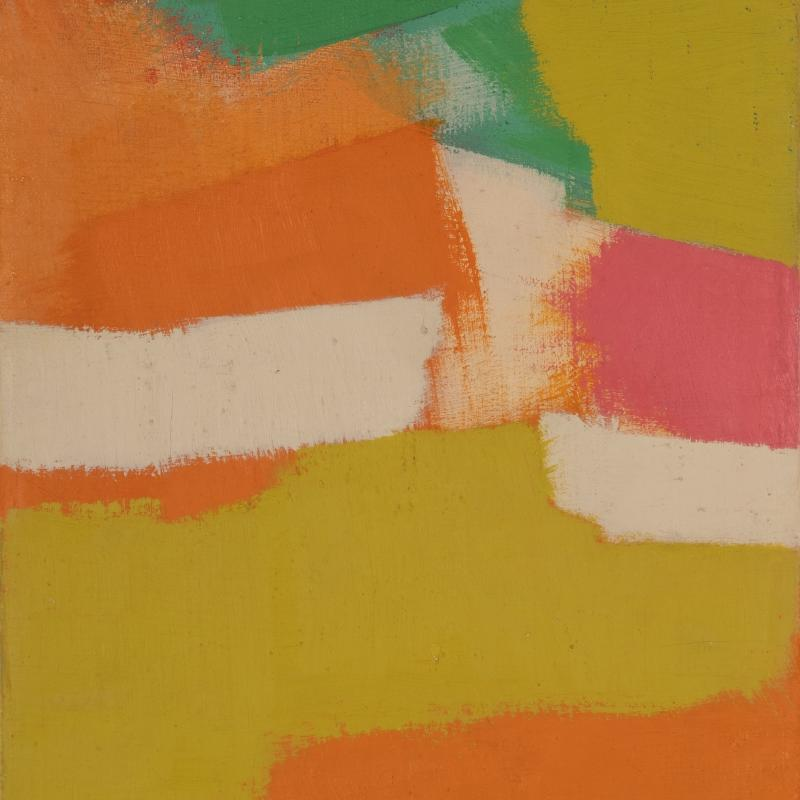 Carl Holty, Color Theory #1037, c. 1950