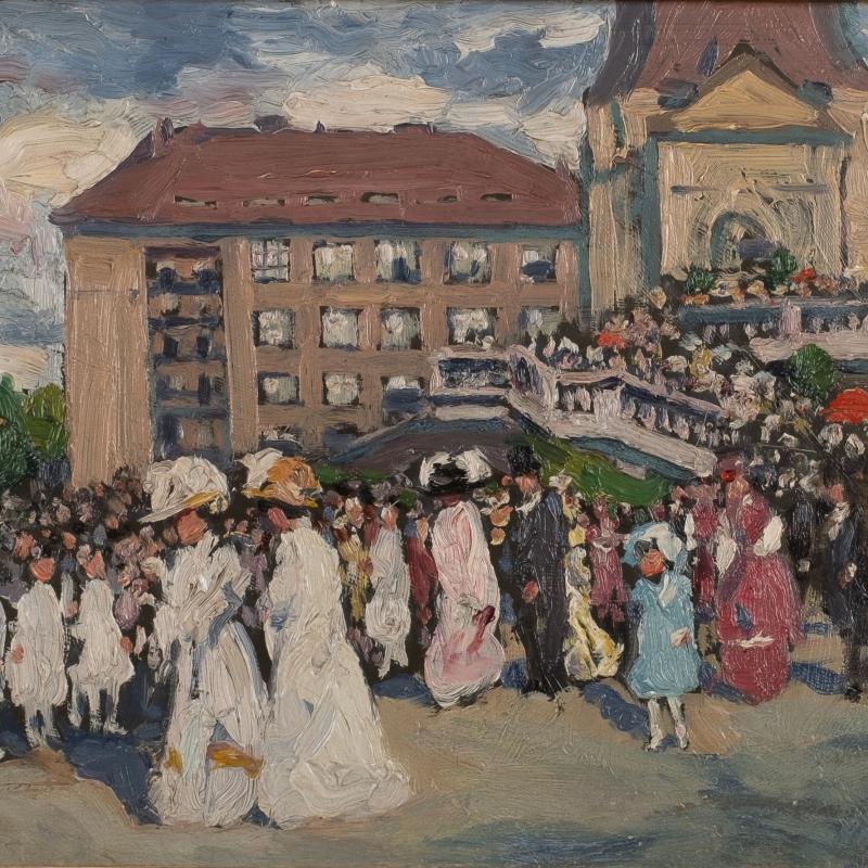 Louis Abel-Truchet, Le Promenade, 1910