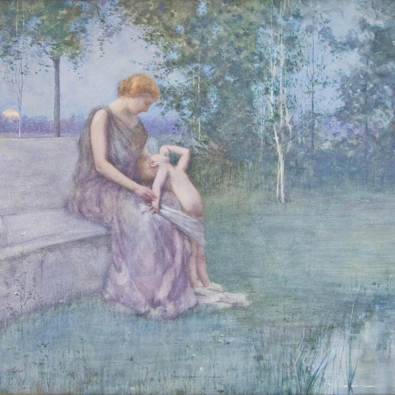 James Francis Day, Mother and Child