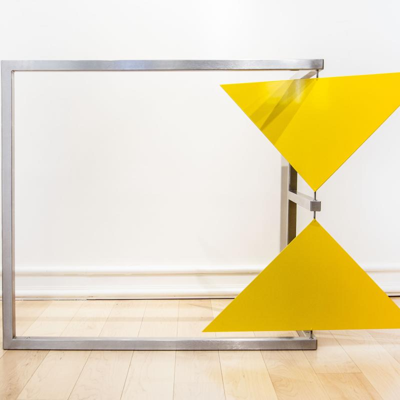 Roger Phillips, Triangular Corner (kinetic), 1998