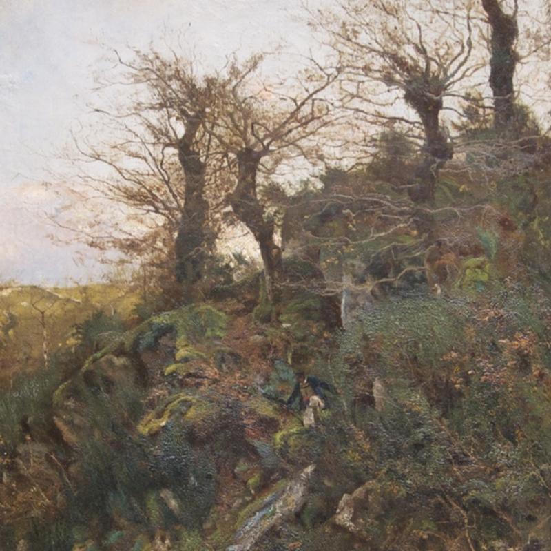 William Lamb Picknell, Hunting, Pont-Aven, 1887