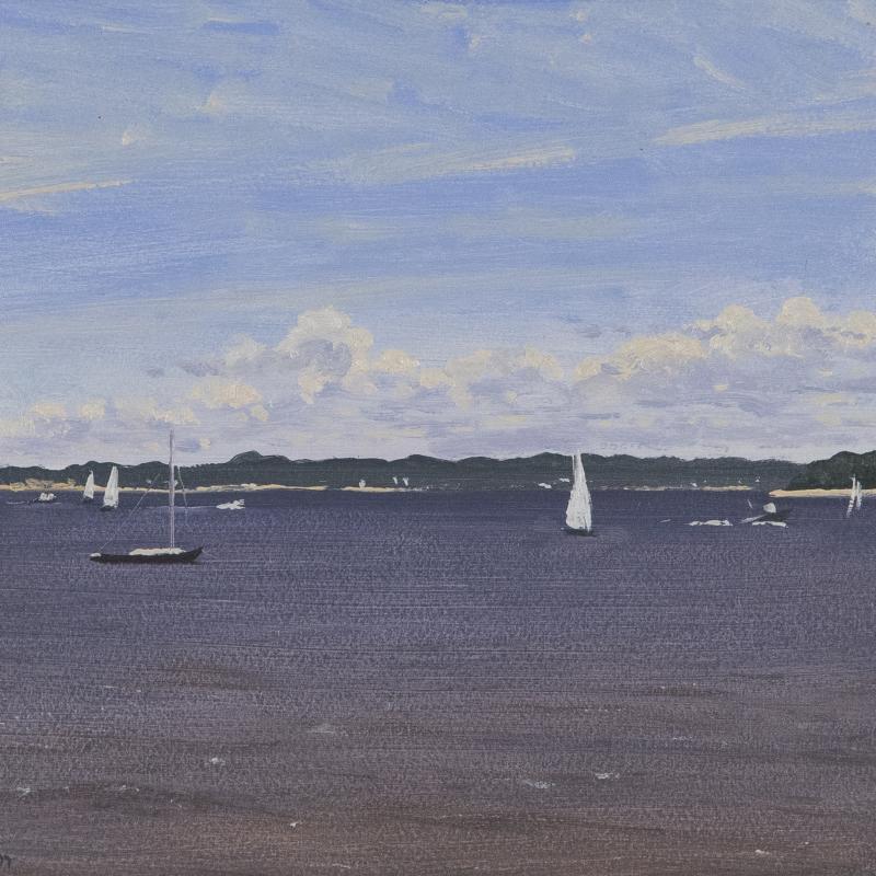 Simon Parkes, Gardiner's Bay, Early July, East Hampton, 1997