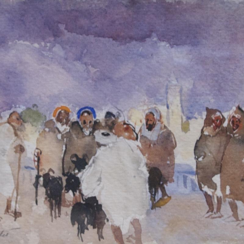 Martha Walter, Goat Herders, North Africa