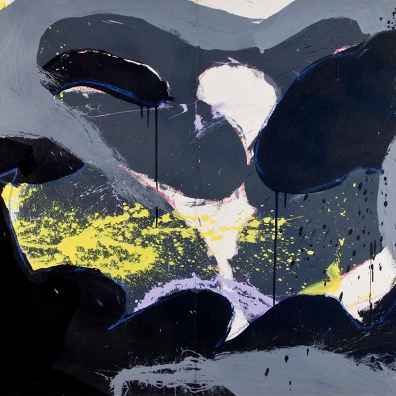 Norman Bluhm, Untitled, 1973