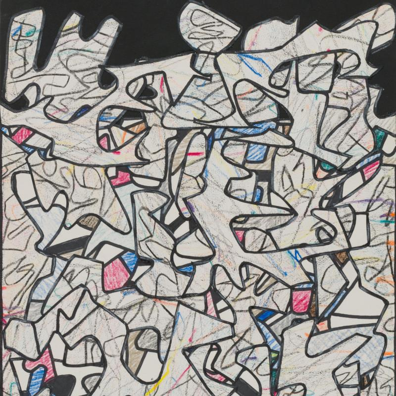 Jean Dubuffet, Paysage, 1974