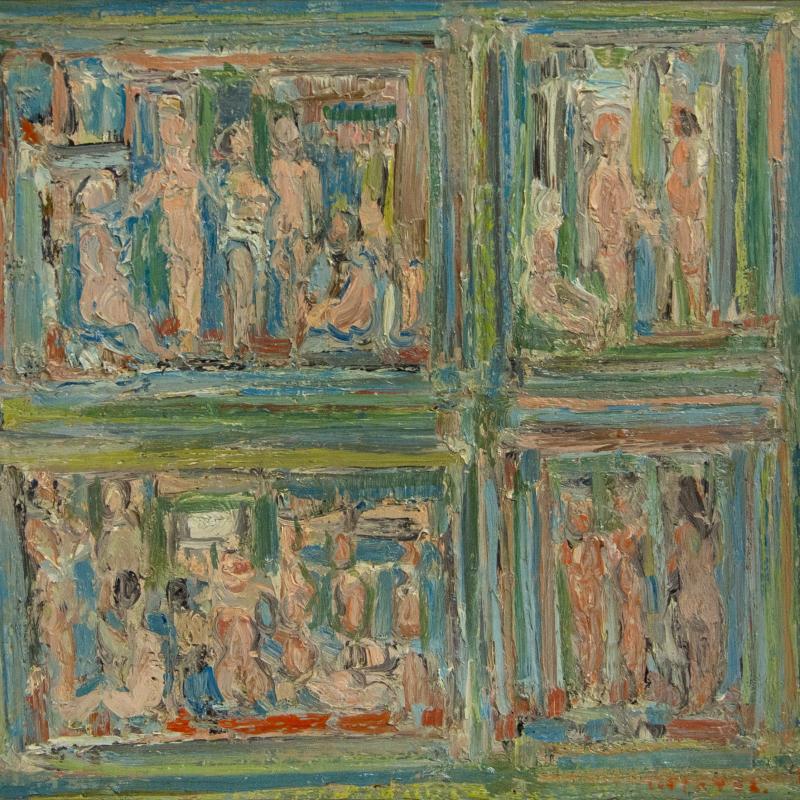 André Cottavoz, Les 4 Scenes, 1962