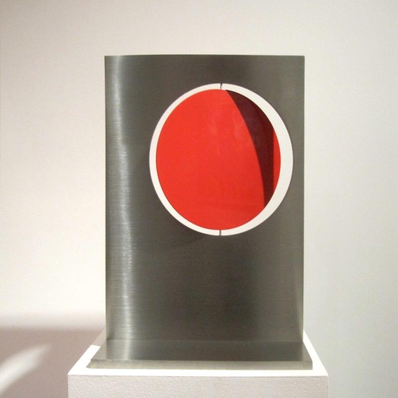 Roger Phillips, 8 1/4-inch Disc Through Plate, 2012