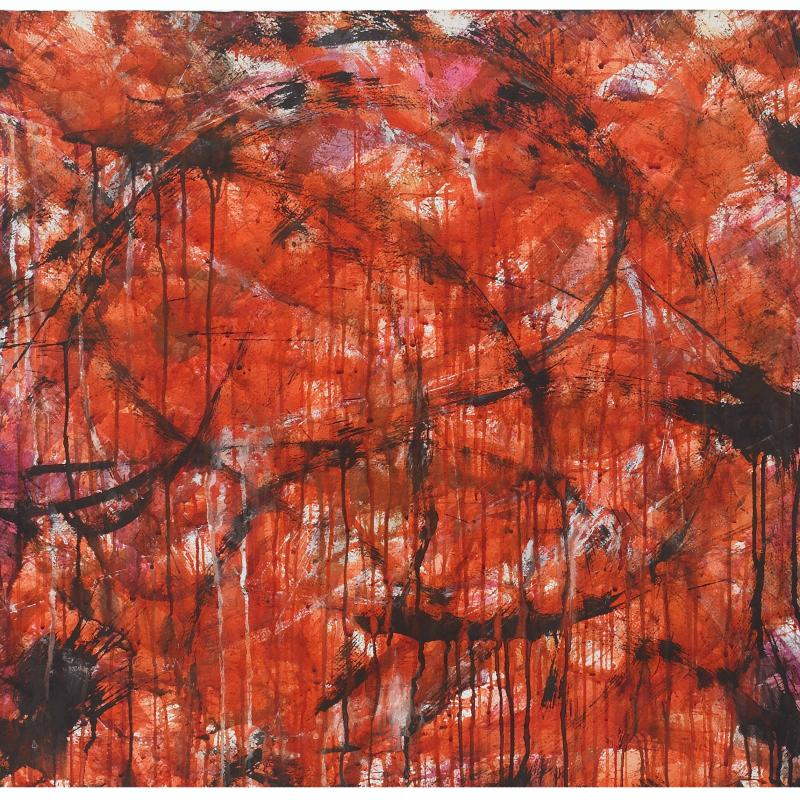 Norman Bluhm, Untitled, 1957