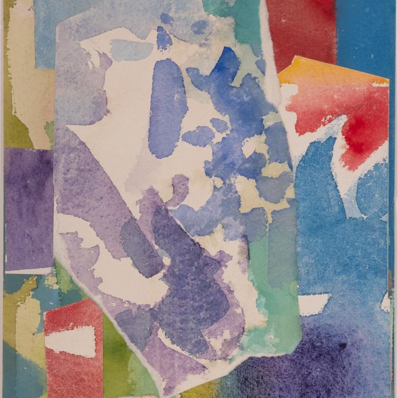 Carl Holty, Collage II, 1958