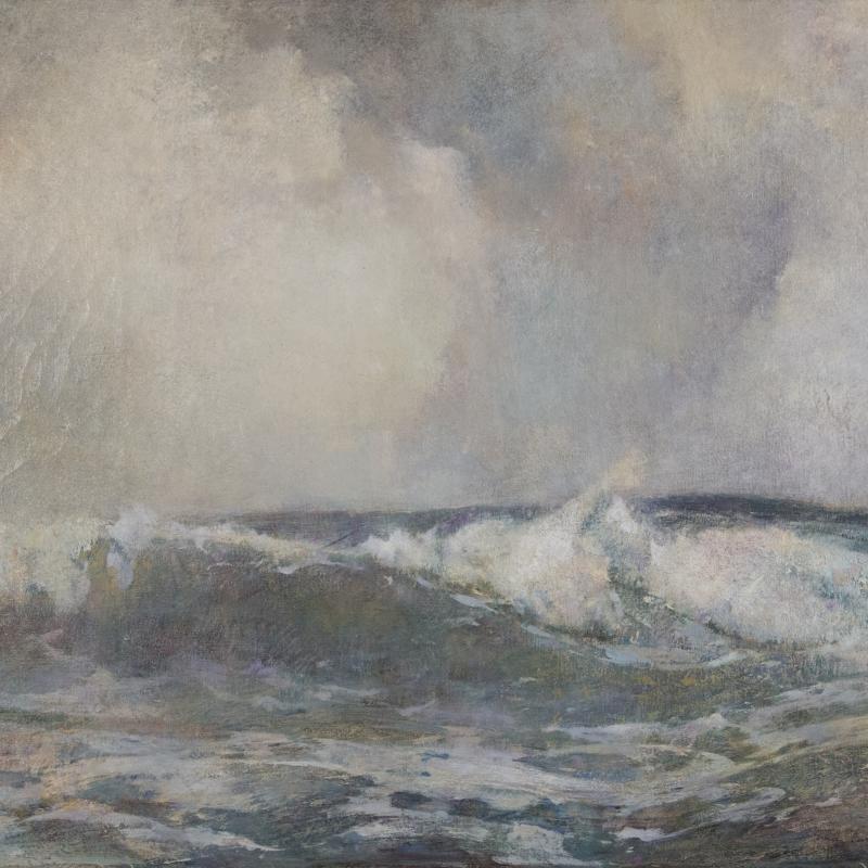 Soren Emil Carlsen, Breakers, 1908