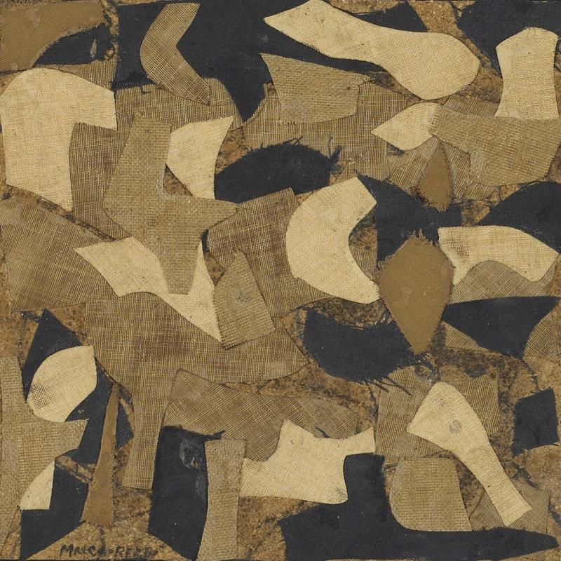 Conrad Marca-Relli, Untitled 4484, Circa late 1950s