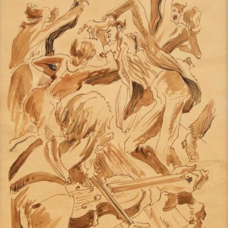Thomas Hart Benton, The Square Dance
