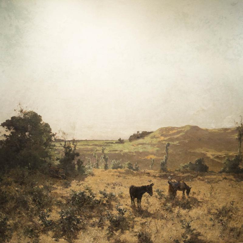 Léon Germain Pelouse, Paysage, 1878