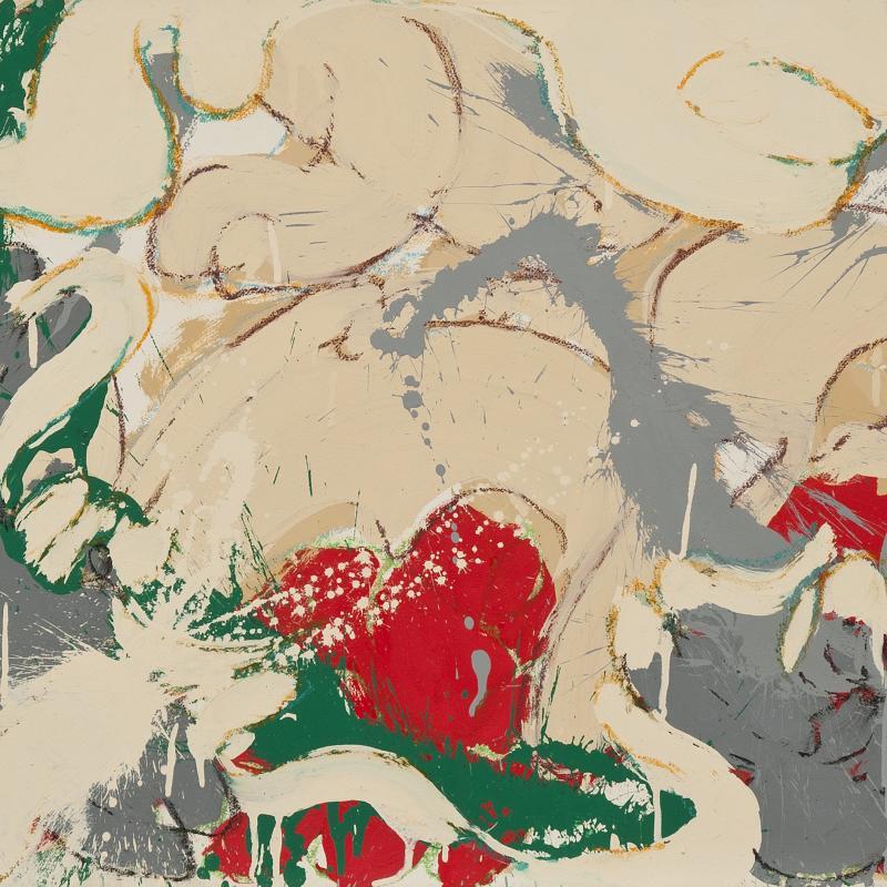 Norman Bluhm, Composition, 1975