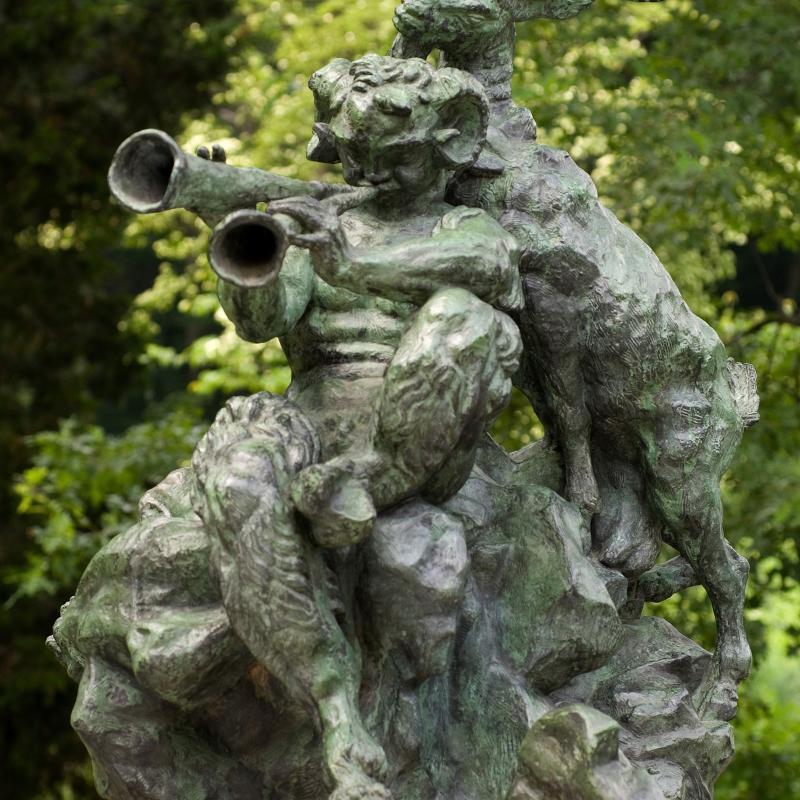 Emile Antoine Bourdelle, L'Art Pastoral (Monument à Debussy)