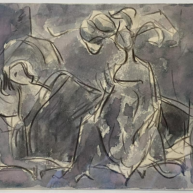 Carl Holty, Untitled #374, c. 1951