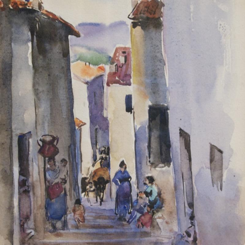 Martha Walter, Spanish Steps