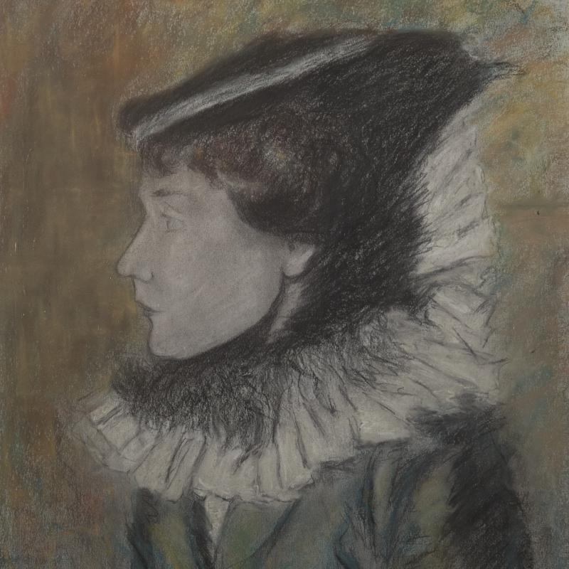 Louis Legrand, Femme à la Collerette