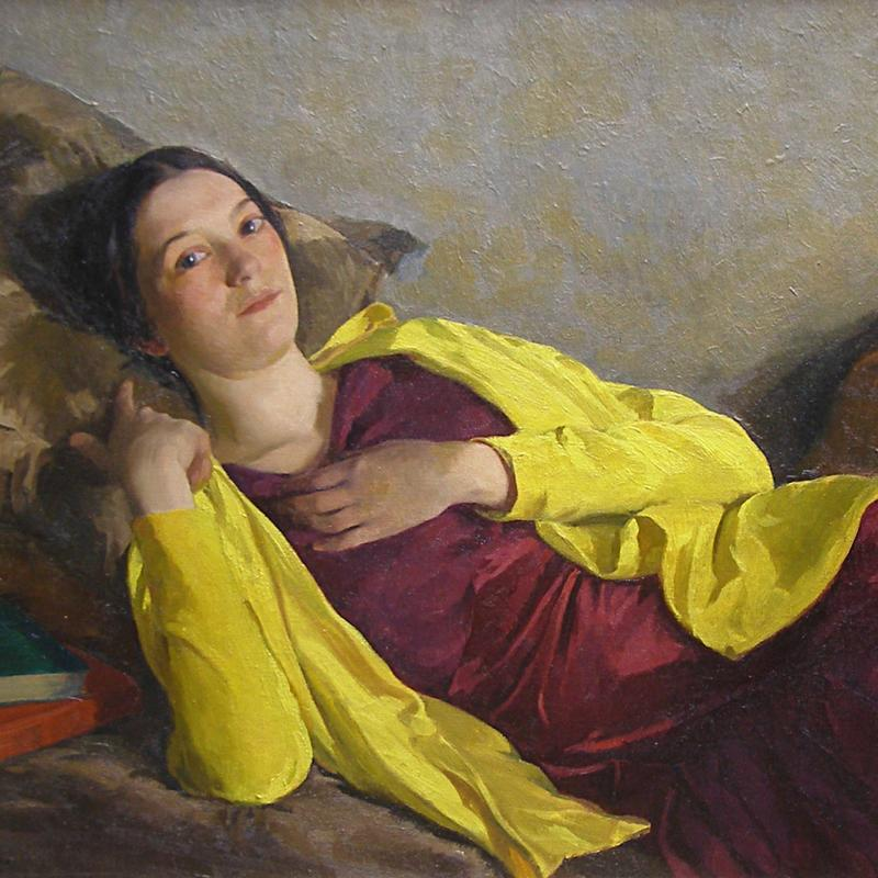 Ivan Olinsky, Purple and Gold