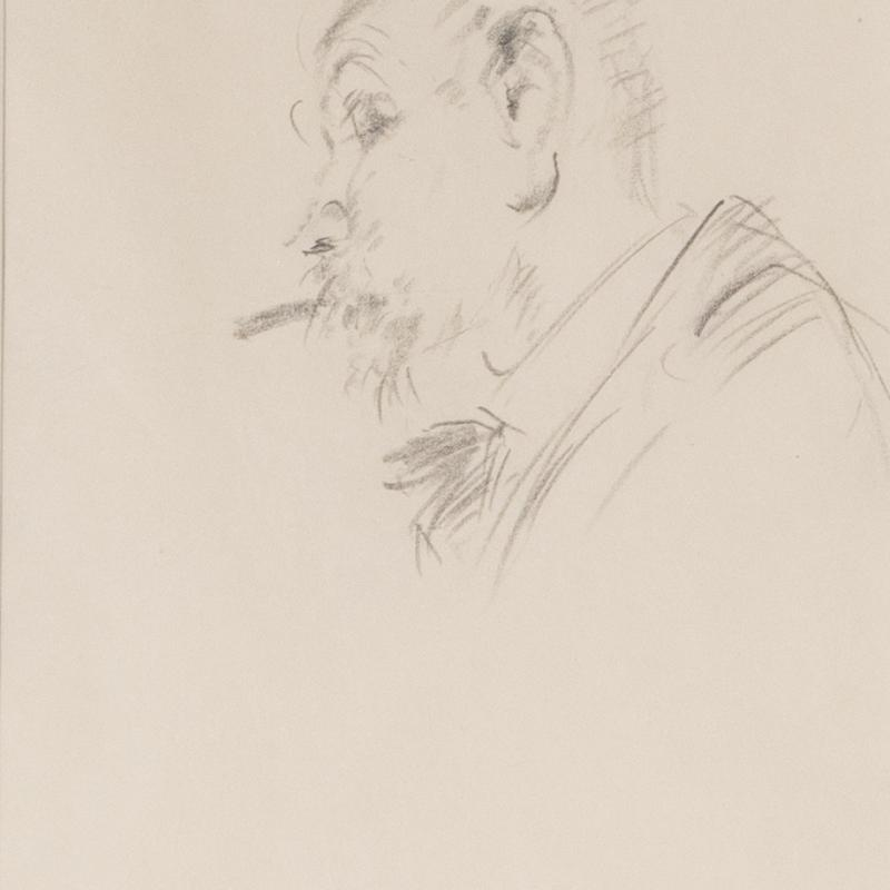 Francis Luis Mora, Self Portrait