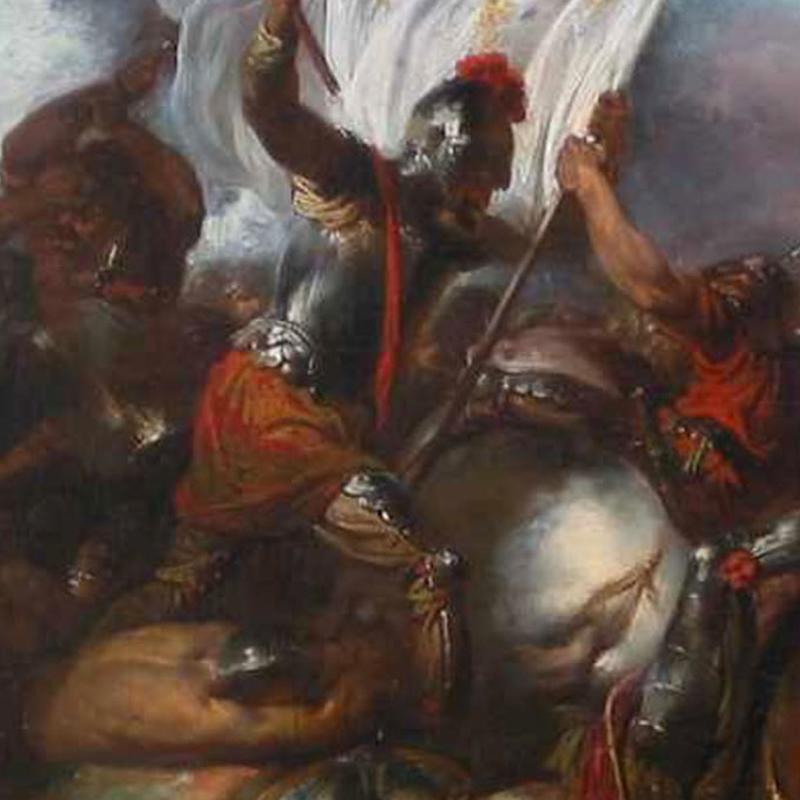John Hamilton Mortimer, The Battle of Poitiers