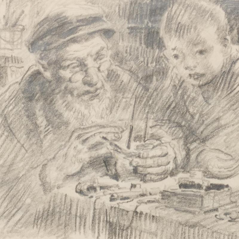 Francis Luis Mora, Grandfather