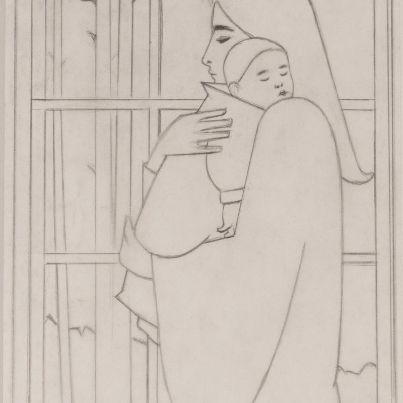 Will R. Barnet, Midnight (Study for midnight), c. 1983