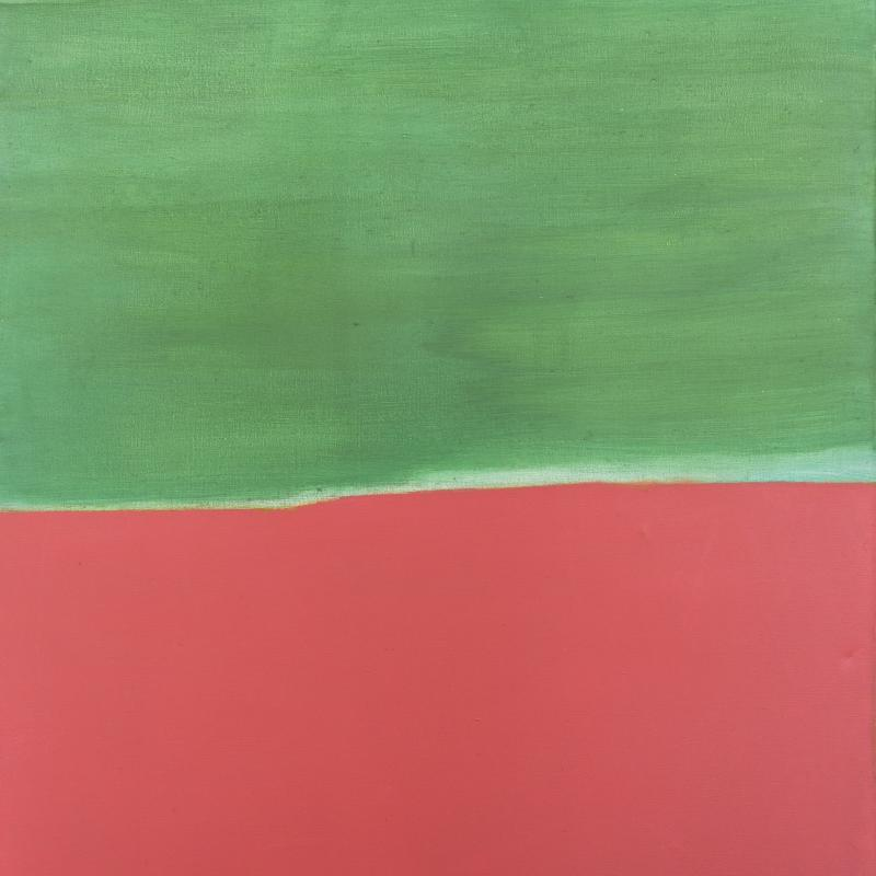Carl Holty, Pink Sand, 1961